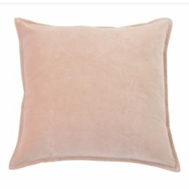 the go'round kussen 45 x45 | fluweel dusty pink