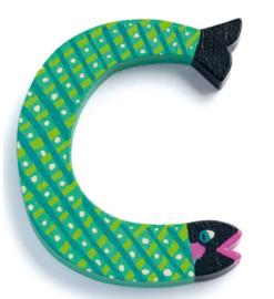 Djeco alfabet dieren | letter C