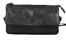 Bear Design clutch/portemonne 'Romy' | zwart