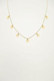 My Jewellery | ketting met muntjes goud