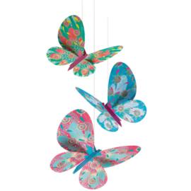 Djeco knutselen | hangende vlinders