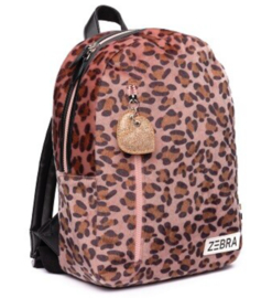 Zebra trends rugzak (m) | soft leo pink