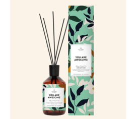 The Gift Label | You are awesome, Reed diffuser, 5 stokjes 400ML