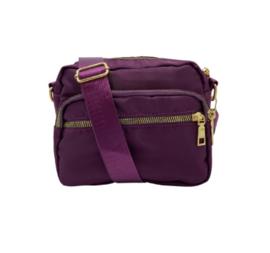 black colour tas | Viggy handtas klein deep purple