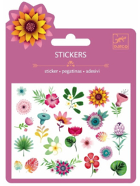 Djeco ministickers | bloemetjes