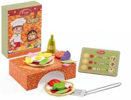 Djeco rollenspel | pizza maken met Luigi