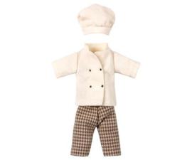 Maileg kleding Koksmuis outfit