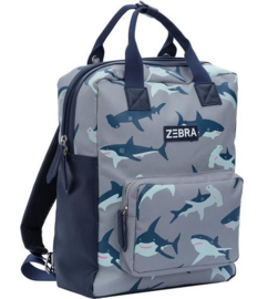 zebra trends rugzak (l) | wild shark