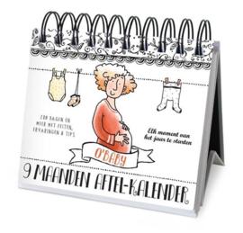 Image books | 9 maanden aftel-kalender