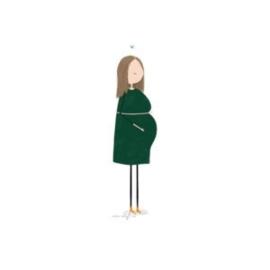 Kleinliefs, zwangere vrouw