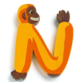 Djeco alfabet dieren | letter N