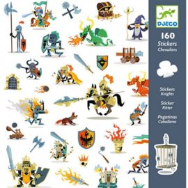Djeco stickers | ridders