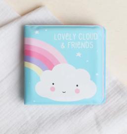 Little Lovely Company badboekje | wolk en vriendjes