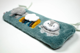 Snoozebaby regenboog puzzel | grey mist