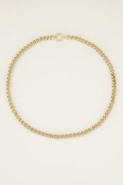 My Jewellery | ketting middellang grove schakel goud