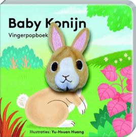 Baby konijn | vingerpopboekje karton