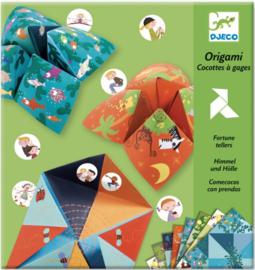 Djeco origami   zoutvaatjes vouwen dieren