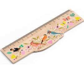 Djeco Lovely paper   lineaal vogeltjes Lucille