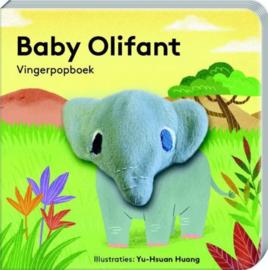 Baby olifant | vingerpopboekje karton