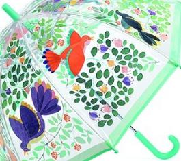 Djeco Paraplu | Bloemen en vogels