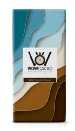 WOW cacao caramel seasalt | dark