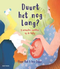 Duurt het nog lang? negen maanden wachten op de baby | prentenboek