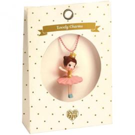 Djeco kinderketting lovely charm | ballerina