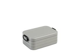 Mepal lunchbox take a break midi   silver