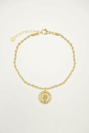 My Jewellery | armband met vintage munt goud