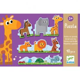 Djeco puzzel | van klein naar groot
