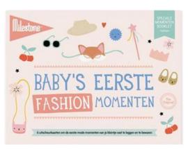 milestone® baby's eerste momenten   fashion