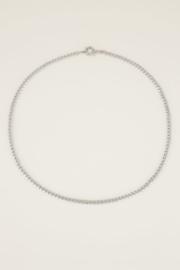 My Jewellery | ketting lang grove schakel zilver