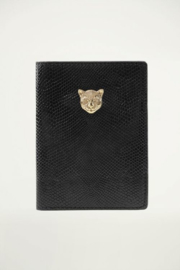My Jewellery | paspoorthoesje luipaard zwart
