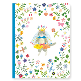 Djeco lovely paper | schrift A5 Aiko