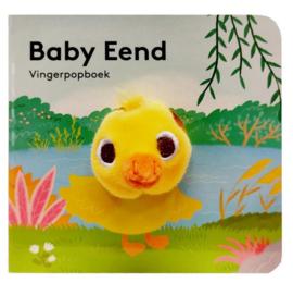 Baby eend | vingerpopboekje karton
