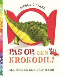 Pas op, een krokodil! | prentenboek