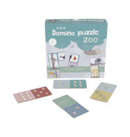 Little Dutch  spel | domino puzzle dierentuin