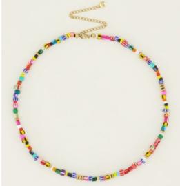 My Jwellery | Multikleur ketting met kralen