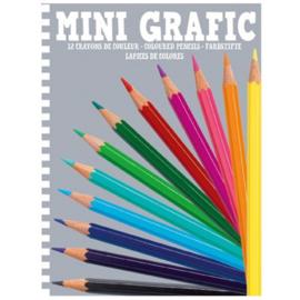 Djeco Mini Grafic 12 kleurpotloden