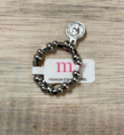 My Jewellery | Stretch ring zilver met zegel