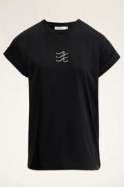 My Jewellery | t-shirt golfjes zwart
