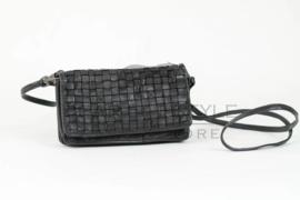 Portemonnee/Schoudertasje zwart, Bear Design