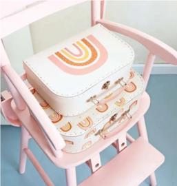 Little Lovely Company kofferset | regenboog