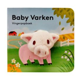 Baby varken | vingerpopboekje karton