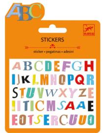 Djeco ministickers | puffy alfabet