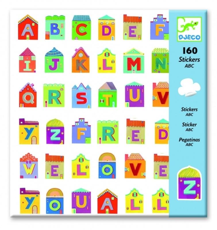 160 stickers abc Djeco