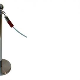 Absperrkordeln ProfLine Bordeaux Rot 40 mm. - mehr info