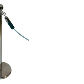 Absperrkordeln ProfLine Grün 40 mm. - mehr info