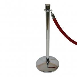 Absperständer Poliert-Chrom PFL 210 ProfLine Zylinder - mehr info