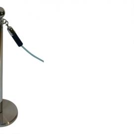 Absperrkordeln ProfLine Marineblau 40 mm. - mehr info